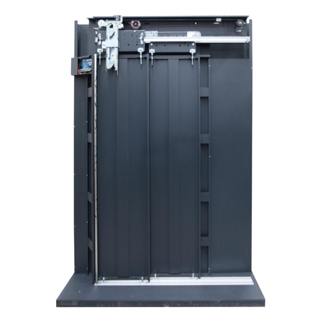 2 Panel Teleskopik - kabin kapisi