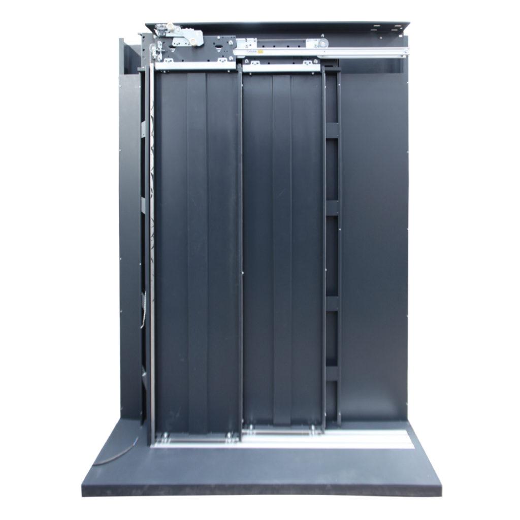 2 Panel Teleskopik Kat Kapısı