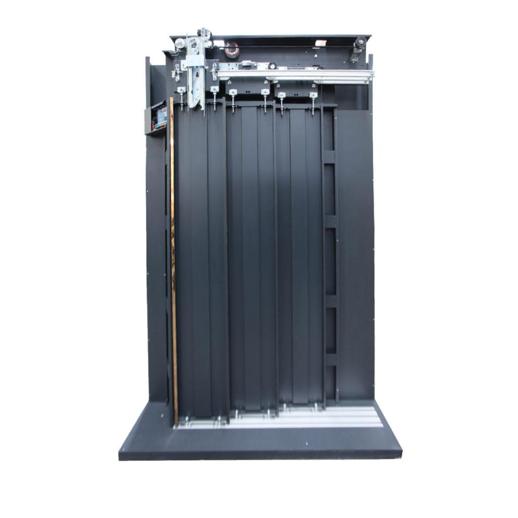 3 Panel Teleskopik - kabin kapisi